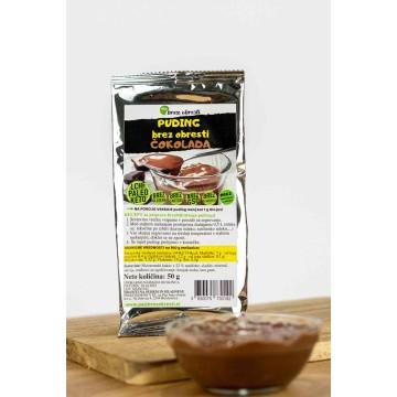 Vlakninski puding – čokolada