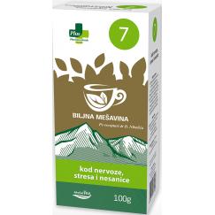Zeliščni čaj proti stresu in nespečnosti
