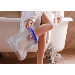 Vodotesna zaščita za poškodovano nogo,GLEŽENJSKA